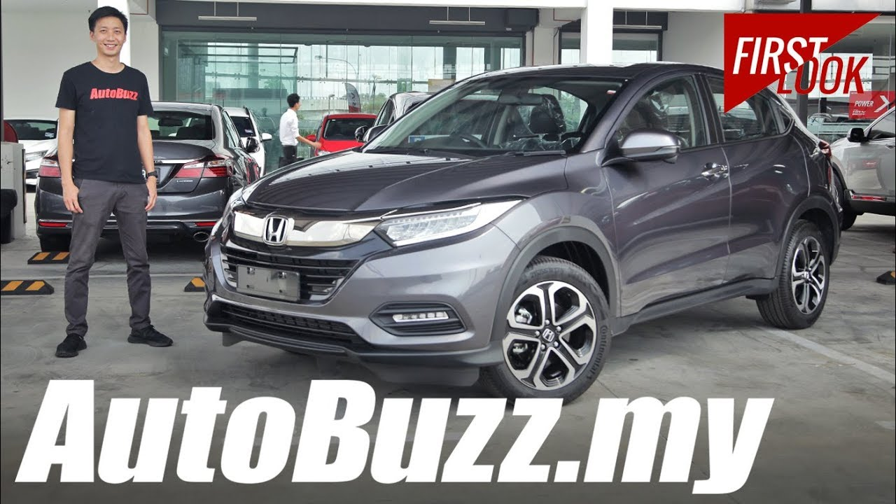 Honda Hr V Facelift First Look In Malaysia Autobuzzmy Youtube