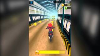 Cartoon Dirt Bike Runner (Official Trailer) - IOS & Android Runner Game