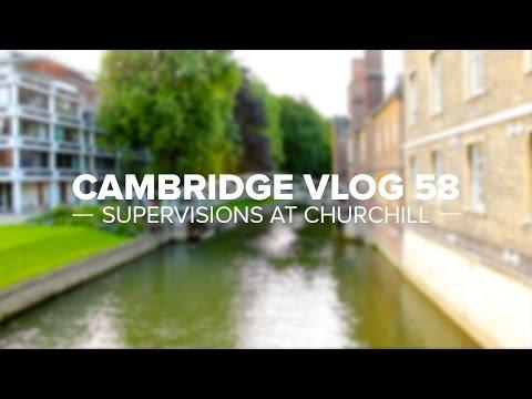 Cambridge Vlog 58 | Supervisions at Churchill