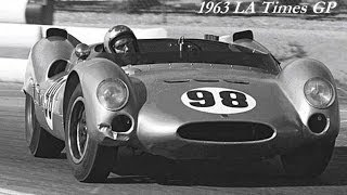 1963 LA Times Grand Prix - Winner Dave MacDonald in Shelby King Cobra CM/1/63