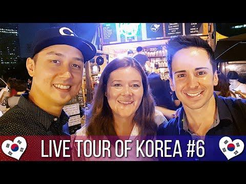 Seoul's Han River Night Market 여의도 밤도깨비야시장 - 🇰🇷 LIVE TOUR OF KOREA #6