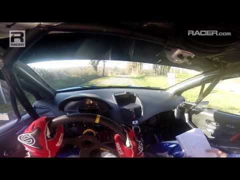RACER: Simon Pagenaud French Rally Visor Cam 2014