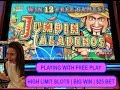 MAS GRANDE WIN!!! | $25 BET | FREE PLAY | HIGH LIMIT SLOTS |JUMPIN' JALAPENOS | WYNN LAS VEGAS