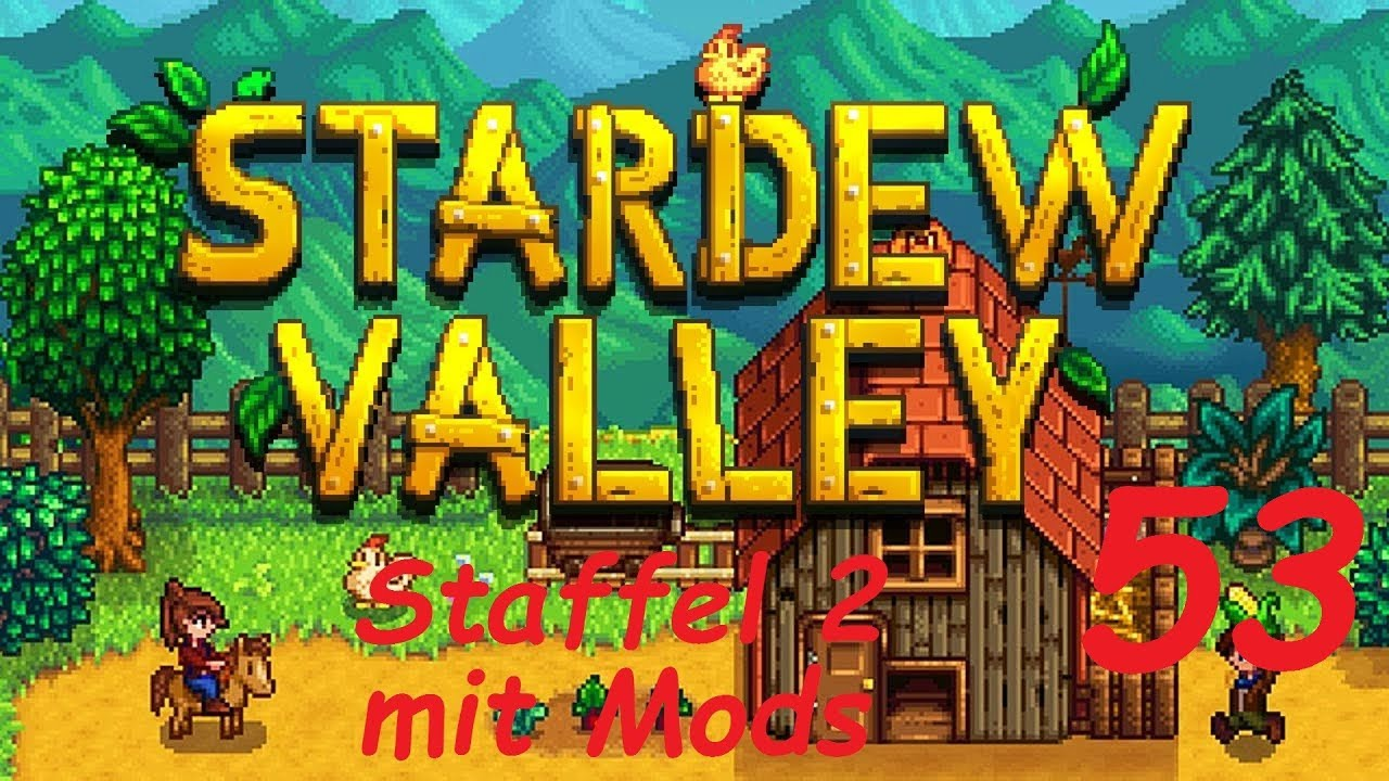 Stardew Valley 53 Den Huhnerstall Erweitern German Deutsch Youtube
