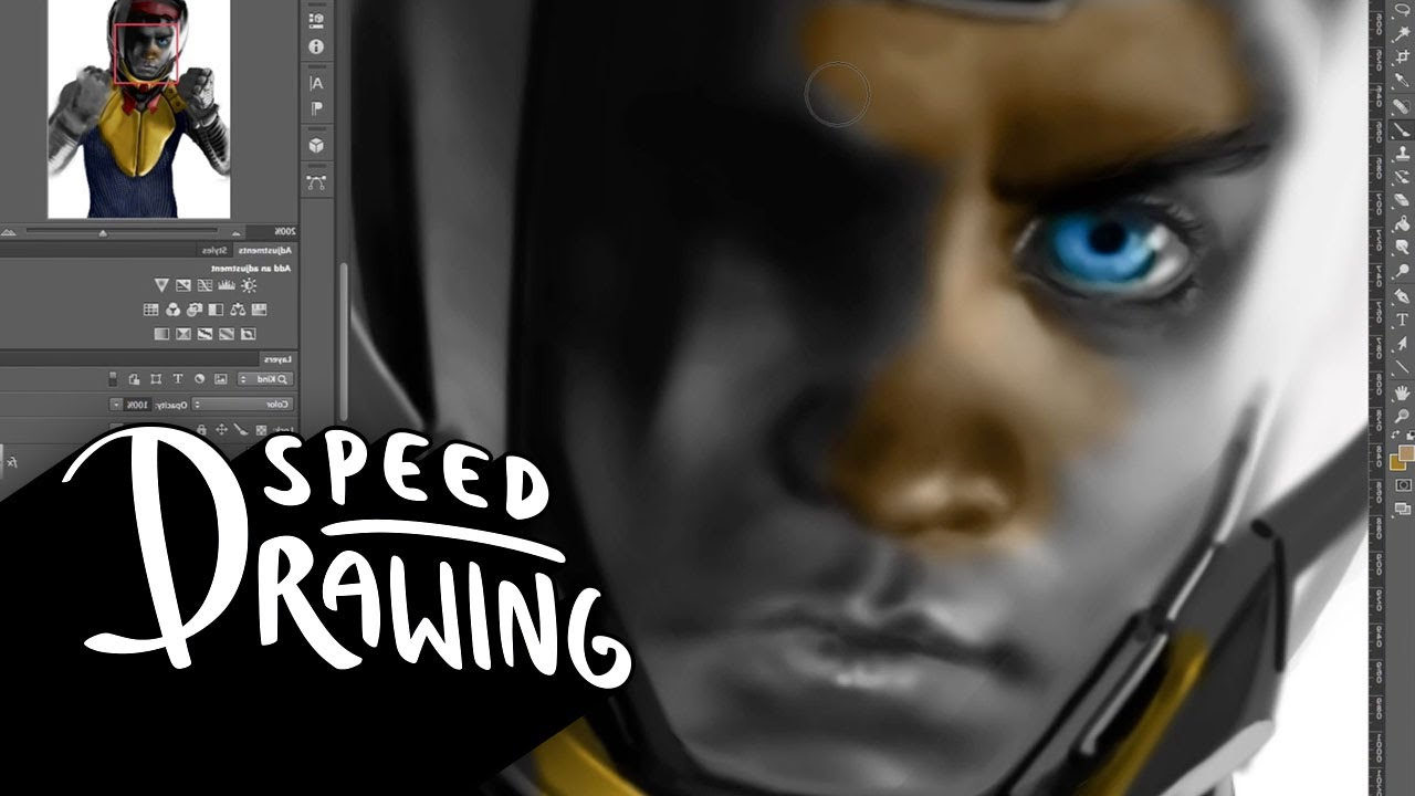 Speed Drawing: Ender's Game YouTube