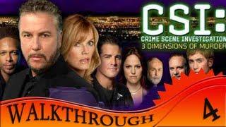 CSI 3 Dimensions Of Murders - Walkthrough #4 | Case Three