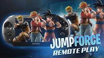 Psvita Jump Force Remote Play