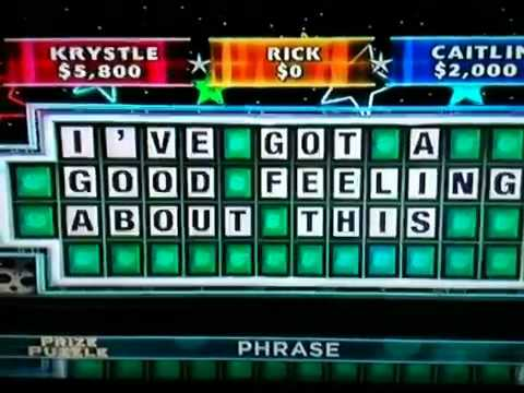 wheel of fortune puzzle solutions