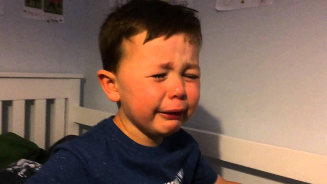 The kid crying about Robin Van Persie? It's a father using his son's distress for himself, and it's a disgrace