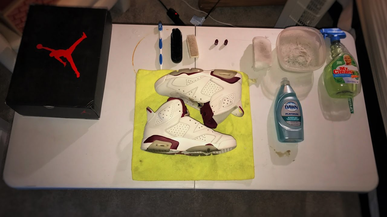 How to Make Your Own Shoe Cleaner - YouTube