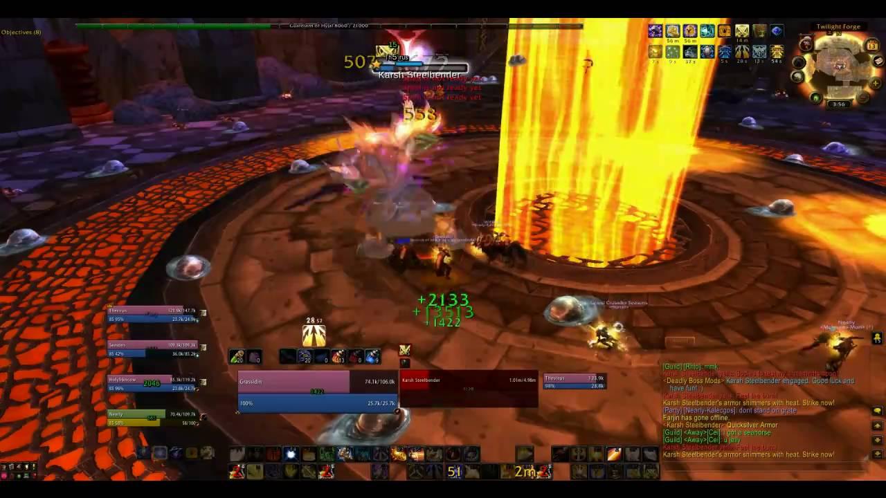 Cataclysm heroic dungeon] end time, murozond tank pov (ptr 4. 3.