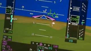 Synthetic vision airport dome - pilot's view - #8
