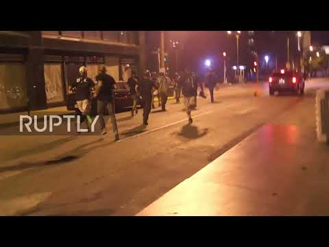 USA: Arrests made in St. Louis on third night of protests over police shooting