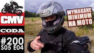 CMV#200: To podstawowe minimum na moto - CODA MV