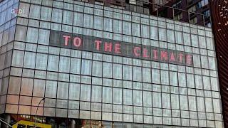 Climate Clock, a New York un orologio segna quanto tempo ci rimanere per salvare la Terra