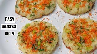 Simple Breakfast Recipe/ Evening Snacks Recipe - Hyderabadi Spot Idli Recipe