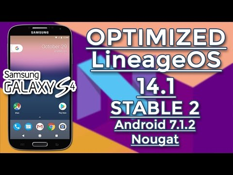 GALAXY S4 - Optimized LineageOS 14.1 STABLE 2 By JDCTeam - Android 7.1.2 Nougat - 동영상