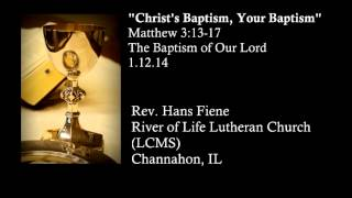 Baptism of Our Lord Christ