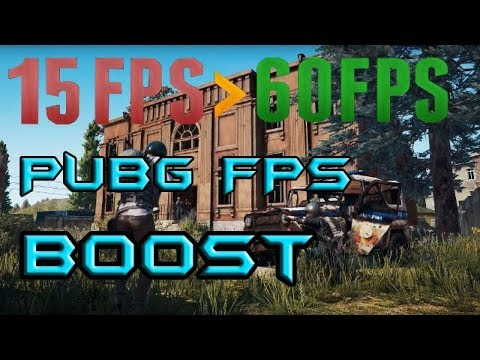 PUBG FPS ARTTIRMA !!! | En ince detayına kadar FPS ayarları.