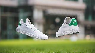 "Review & On-Feet: Adidas x Pharrell Williams Tennis Hu ""Green"""