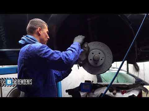 Замена тормозов Mercedes Benz S320 W221