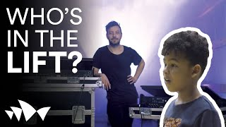 Who's in the Lift? A Lighting Designer! | Episode 5