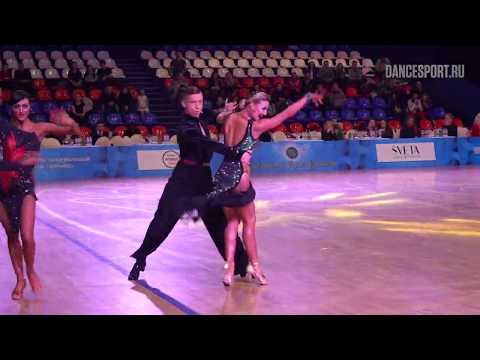 Artem Efanin - Anna Efanina RUS, Samba, Grand Prix Dynamo 2019