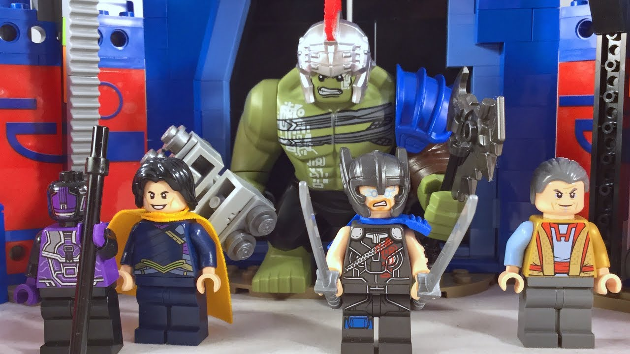 Lego Thor Ragnarok - Thor vs Hulk Arena Clash (76088 ...