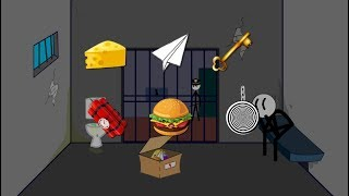 ► Escape the Prison (Ber Ber) Stickman Animation Walkthrough