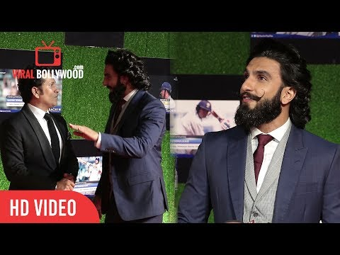 Crazy Ranveer Singh At Sachin A billion Dreams Grand Premiere | Sachin Tendulkar