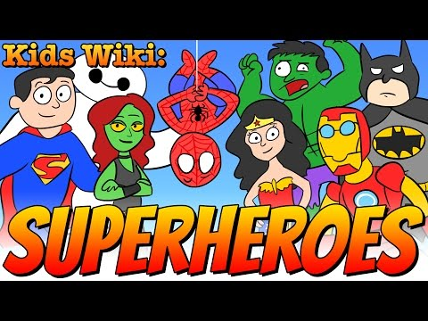 Superheroes & Super Powers | Wiki for Kids at Cool  School