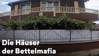 """Die Häuser der """"Bettelmafia"""" in Burgas, Bulgarien"""