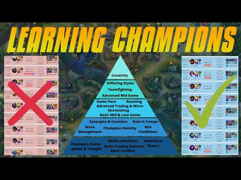 The FASTEST Way To Learn Champions - Expanding Your Pool The Correct Way