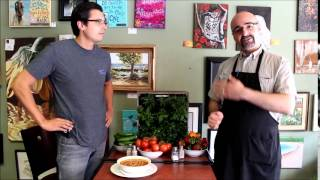 Fresh Eating With Frankie Episode #2 Merlis' Roasted Red Pepper & Tomato Soup