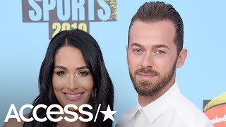 Download Video Nikki Bella and Artem Chigvintsev Make Relationship Official With Sexy Dance MP3 3GP MP4