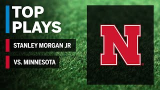 Top Plays: Stanley Morgan Highlights vs. Minnesota Golden Gophers Big Ten Football