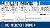 Bulk Print Email and Attachments in Outlook by Chris Menard