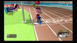 Mario and Sonic at the Olympic Games Athletics: 4x100 meter Relay