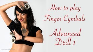 Belly Dance Lessons -  Advanced Zill Drill 1