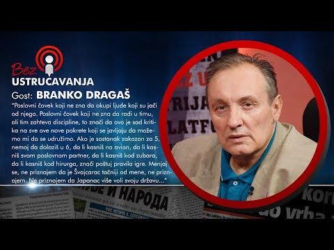 BEZ USTRUČAVANJA - Branko Dragaš: Politička opozicija je plaćena da glumi kao fol opoziciju!