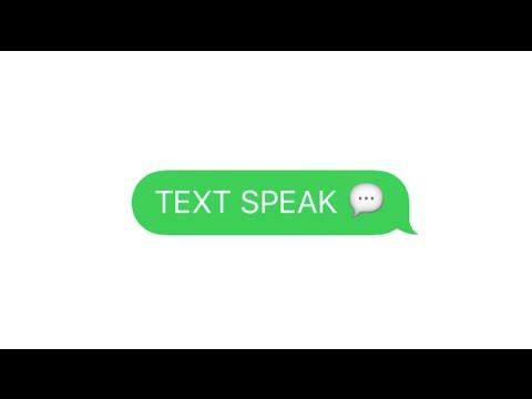 Text Speak