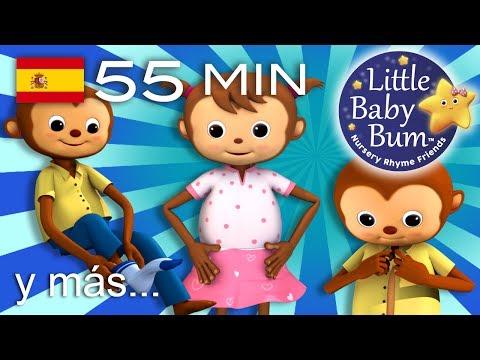 Estoy aprendiendo a vestirme | Y más canciones infantiles | ¡55 min de recopilación LittleBabyBum!