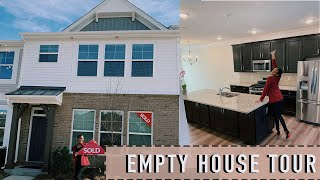 I BOUGHT MY FIRST HOUSE AT 22!!! | Empty Townhouse Tour 2020