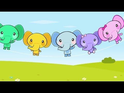 Un éléphant Qui Se Balançait Comptine Pour Enfants Youtube