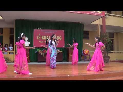 Trường THCS Bạch Hạc-Tiết mục văn nghệ chào mừng năm học mới