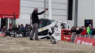 Video still for Bobcat Remote Control Toy Demo at bauma 2019