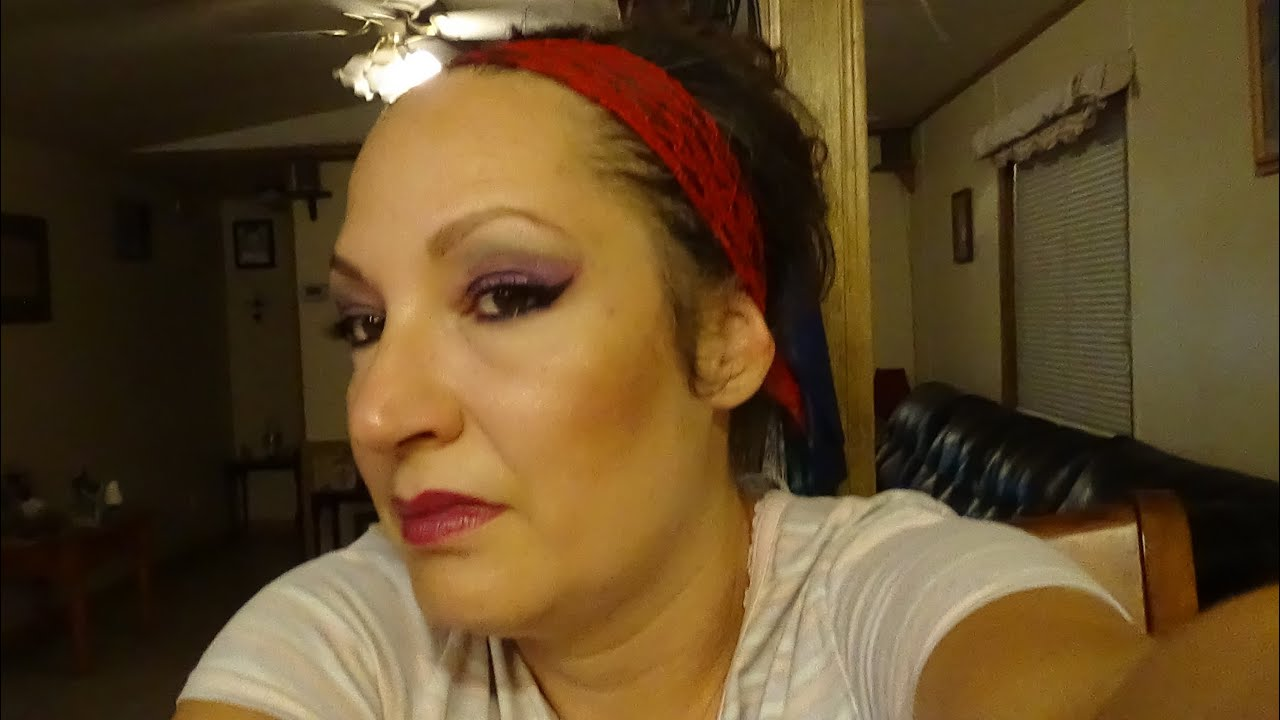 Wild Sex Candy Eye Makeup And Full On Face For Night Time -6012