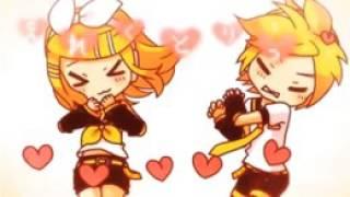 Hermanos Len y Rin Kagamine GIF