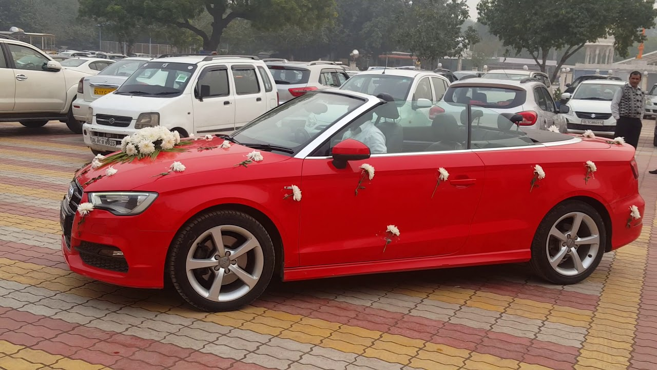 Wedding Car Hire in Delhi - Audi Car Rental for special ...
