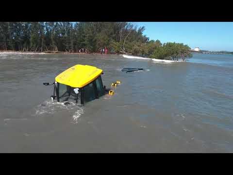 Drowned LANDY off Casuarinas/Small Craft Richards Bay